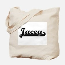 Jacey Classic Retro Name Design Tote Bag