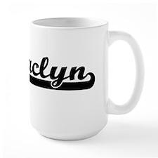 Jaclyn Classic Retro Name Design Mugs