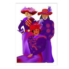 Women's Diversity Postcards (Package of 8)