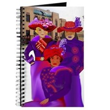 Red Hat Lady's Art Deco Journal