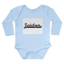 Jaidyn Classic Retro Name Design Body Suit