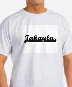Jakayla Classic Retro Name Design T-Shirt