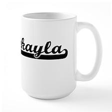 Jakayla Classic Retro Name Design Mugs