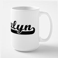 Jalyn Classic Retro Name Design Mugs