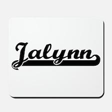 Jalynn Classic Retro Name Design Mousepad