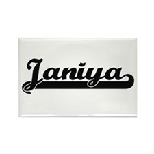 Janiya Classic Retro Name Design Magnets