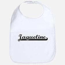 Jaqueline Classic Retro Name Design Bib
