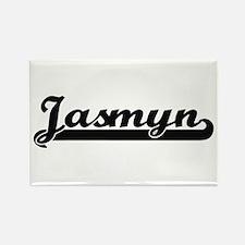 Jasmyn Classic Retro Name Design Magnets