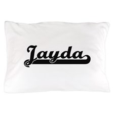 Jayda Classic Retro Name Design Pillow Case