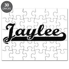 Jaylee Classic Retro Name Design Puzzle