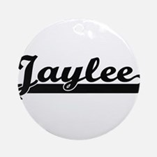 Jaylee Classic Retro Name Design Ornament (Round)