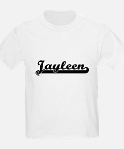 Jayleen Classic Retro Name Design T-Shirt
