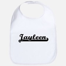 Jayleen Classic Retro Name Design Bib