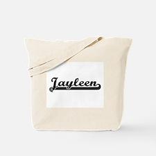 Jayleen Classic Retro Name Design Tote Bag