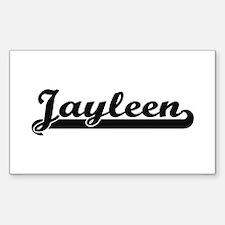 Jayleen Classic Retro Name Design Decal
