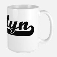 Jazlyn Classic Retro Name Design Mugs