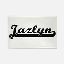 Jazlyn Classic Retro Name Design Magnets