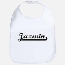 Jazmin Classic Retro Name Design Bib