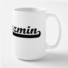 Jazmin Classic Retro Name Design Mugs