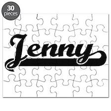 Jenny Classic Retro Name Design Puzzle