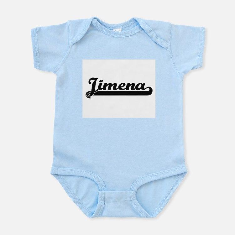 Jimena Classic Retro Name Design Body Suit
