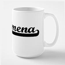 Jimena Classic Retro Name Design Mugs
