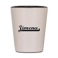 Jimena Classic Retro Name Design Shot Glass