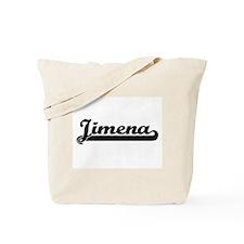 Jimena Classic Retro Name Design Tote Bag