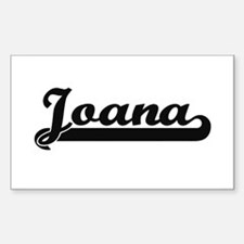 Joana Classic Retro Name Design Decal
