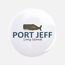 Port Jefferson - Long Island. Button