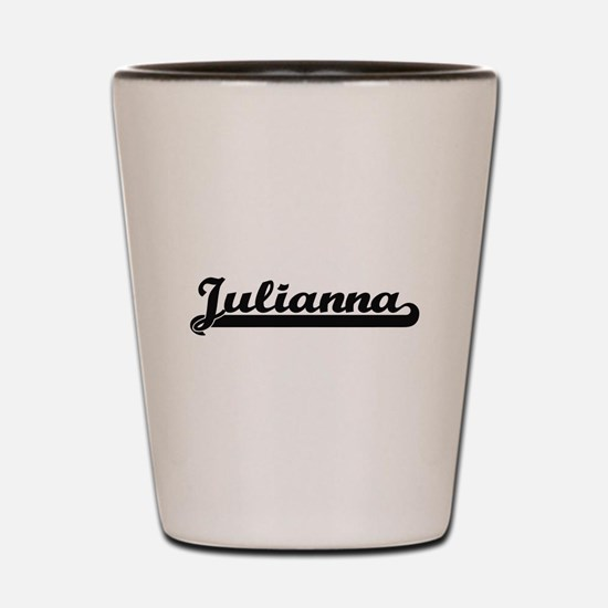 Julianna Classic Retro Name Design Shot Glass