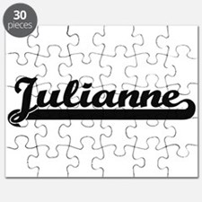 Julianne Classic Retro Name Design Puzzle