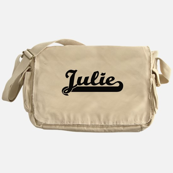 Julie Classic Retro Name Design Messenger Bag