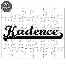 Kadence Classic Retro Name Design Puzzle