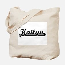 Kailyn Classic Retro Name Design Tote Bag