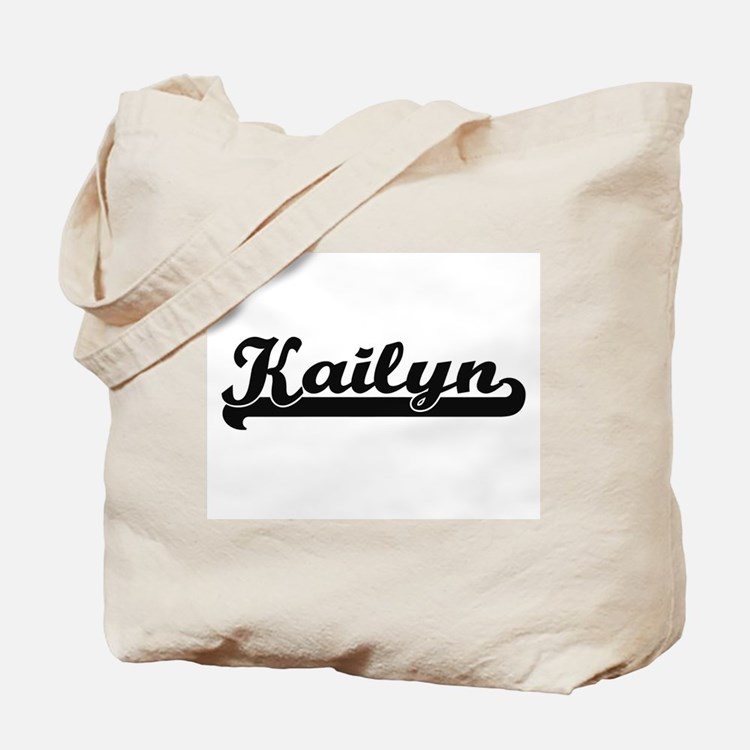 Kailyn Classic Retro Name Design Tote Bag