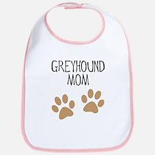 Greyhound Mom Bib