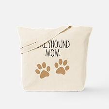 Greyhound Mom Tote Bag