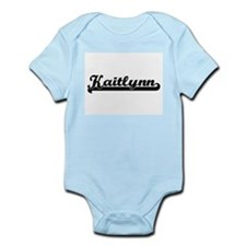 Kaitlynn Classic Retro Name Design Body Suit