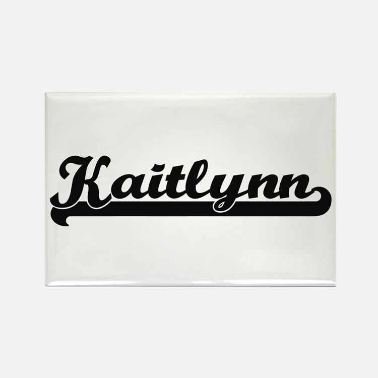 Kaitlynn Classic Retro Name Design Magnets