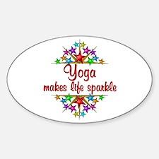 Yoga Sparkles Decal