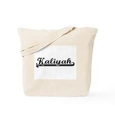 Kaliyah Classic Retro Name Design Tote Bag