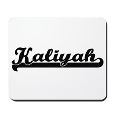 Kaliyah Classic Retro Name Design Mousepad