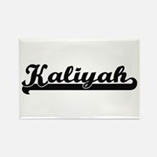 Kaliyah Classic Retro Name Design Magnets