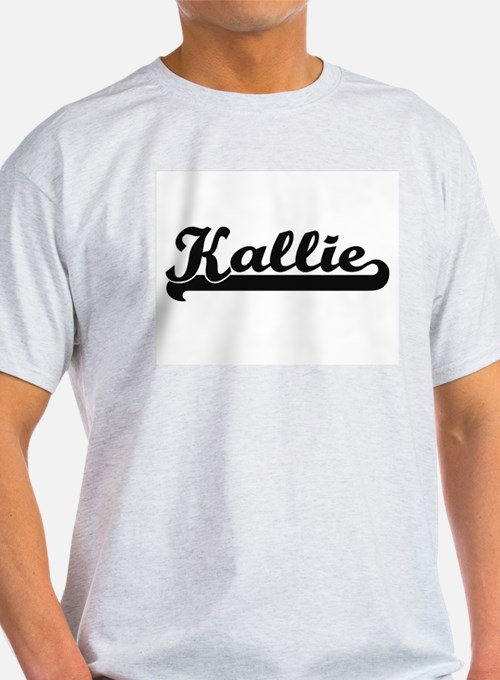 Kallie Classic Retro Name Design T-Shirt