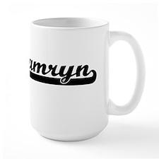 Kamryn Classic Retro Name Design Mugs