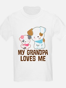 My Grandpa Loves Me T-Shirt