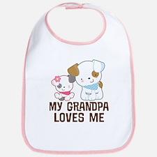 My Grandpa Loves Me Bib