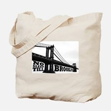 NO SLEEP TILL BROOKLYN Tote Bag