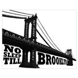 Brooklyn Wrapped Canvas Art
